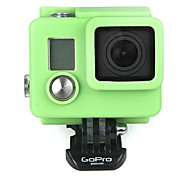 Gopro Accessories Mount For Gopro Hero 3 Silicone Green