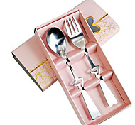 2-Pack Everyday Heart Spoon Fork