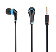 Flat Cable Style In-Ear Earphone (Assorted Colors)