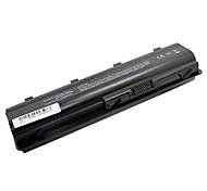 Reemplazo de la batería 10400mAh del ordenador portátil para HP DM4 Presario CQ32 CQ42 CQ62 G42 MU06 G6 G72 - Negro