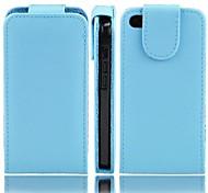Angibabe Jelly Colores del caso del tirón del cuero de la PU para iPhone5C