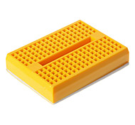 Mini Breadboard - Yellow (46 x 35 x 8.5mm)
