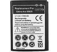 1500mAh Cell Phone Battery for Samsung Galaxy Ace S5830 S5670 i579 i569