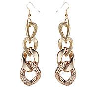 Golden Chain Ohrringe (zufällige Farbe)
