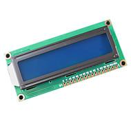 LCD1602 LCD 1602 Amarillo y pantalla verde con retroiluminación de la pantalla LCD LCD-1602-5V