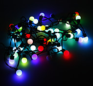5M 3W 50-LED RGB Light Ball vormige LED Light Strip (220V)