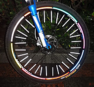 12 Pcs MTB Mountain Bike Spoke Reflective Stripe
