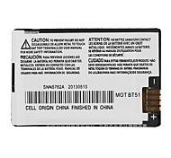 MOTOROLA BT51 1300mAh Batterie de téléphone portable pour Motorola RIZR BT51 Z6tv ROKR Z6m V190 Q9c