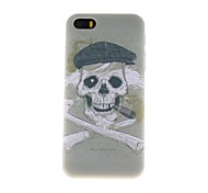 Old Man Skull Pattern PC Hard Case for iPhone 5/5S