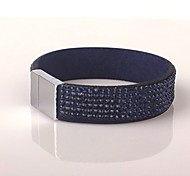Six Rows Magnet Dark Blue Bracelet