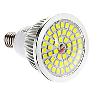 6W E14 Focos LED 48 SMD 2835 lm Blanco Cálido Regulable AC 100-240 V