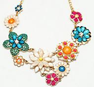 Mode Goldlegierung Aussage Halskette (multicolor) (1 PC)