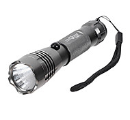 LT-D11Q7 recargable 3-Mode del Cree XP-E Q5 LED Flashlight (550LM, 1x18650, gris / marrón)