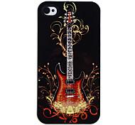 Gitarre auf Feuer Muster Tonerde Hard Case für iPhone 4/4S