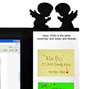 Creative Lovely Angel/Owl Screen Display Transparent Message Board