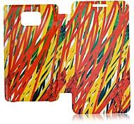 Las Colorido Estilo Sueño Casos Funda de piel de cuerpo completo para Samsung S2 I9100