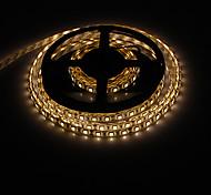 LED 5M 14.4W 60x5050SMD lumière blanche chaude imperméable bande de lumière (12V DC)
