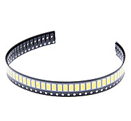 DIY 5730SMD 30-60LM 3000-3500K calientan la viruta del LED de luz blanca (2.8-3.6V/50pcs)