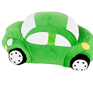 Fantastic Large-sized Green Car Shaped Stuffed Pillow Toy