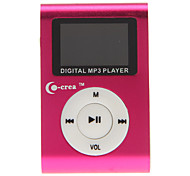 co-crea portátil 1,2 polegadas player digital mp3 com clipe de metal (2 GB)