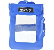 Bingo WP0105 enduit de PVC Boîtier étanche Sac bleu sec pour Appareil Photo Digital Card (bleu, jusqu'à 20m)