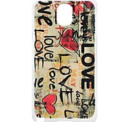 Cartoon Pattern Hard PC Case for Samsung  Galaxy Note 3