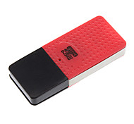 High Speed Mini USB Memory Card Reader (Red/Blue/Green/White)