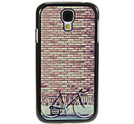 Reminiscence Bicycle Pattern Aluminum&Plastic Hard Back Case Cover for Samsung Galaxy S4 I9500