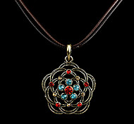 Brown Pendant Necklaces Fabric Party / Daily Jewelry