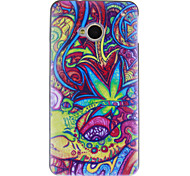 Hard Case Abstract Plant para HTC UNO M7
