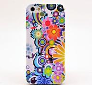 Caso Cover Design crisantemo per iPhone 5/5S