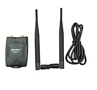 comfast® 300mpbs cf-wu7200nd 12dBi doppie antenne wifi Adattatore USB Wireless Ralink rt3072