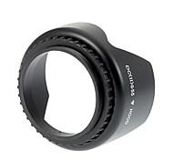 Универсальный 55mm винтами бленда объектива для Nikon / Canon