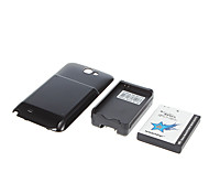 ismartdigi N7100-6000-BK 6000mAh Cell Phone Battery for Samsung N7100 Galaxy Note Ⅱ 2 with Charger