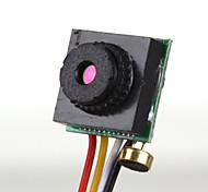 205M760 Mini 1/4 CMOS NTSC Camera - Black + Red + Yellow