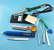 40W externo universal de calefacción del soldador Kit (12 Piezas / Kit)