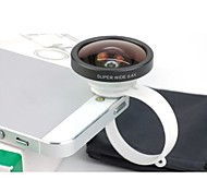 SUPER GRAND ANGLE circulaire Universal Clamp 0,4 X Camera Lens pour iPhone 4/4S/5