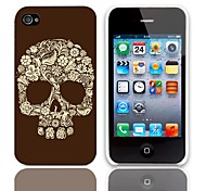 Cartoon Car Pattern Hard Case with 3-Pack Screen Protectors for iPhone 4/4S