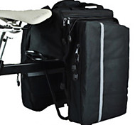CoolChange Waterproof 20L Double Side Black Carriage Pack with Rain Cover