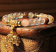 Caring Salute personalità Corea-Style Naturel cristallo ologramma Bracelet (1 Pc)