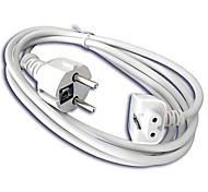 Cavo di prolunga di alimentazione UE per Apple MacBook 45W / 60W / 85W AC Adapter