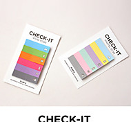 colorido do arco-íris nota projeto pad