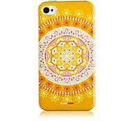Blau und Weiß Porzellan-Muster-Silikon Soft Case für iPhone4/4S