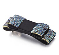 Fashion Full Rhinestone Transverse Clip Hair Accessories