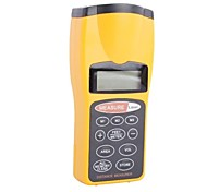 "CP3007 Handheld 1.9"" LCD Ultrasonic Electronic Rangefinder-Black+Yellow (9V battery not include)"