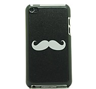 Cartoon Style Mustache Pattern Hard Case for iPod touch 4