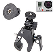 Bike Bicycle Motorcycle Handle Bar Mount for Cameras with 1/4 20 Screw Thread + GoPro Tripod Mount