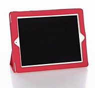 Auto Sleep and Wake Up Case Cover with Hard Back Case for iPad 2/ The New iPad 3/ iPad 4 (Assorted Colors)