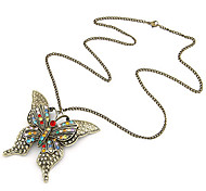 Women's Butterfly Pandent Necklace