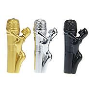 Belle&Microphone Metal Gas Lighter(Random Color)